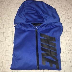 Youth XL - Nike Dri-Fit zip up hoodie